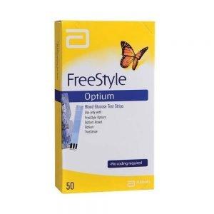 FreeStyle Optimum Blood Glucose Test Strips (100)